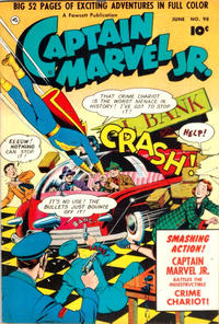 Cover Thumbnail for Captain Marvel Jr. (Fawcett, 1942 series) #98