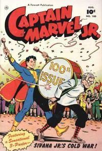 Cover Thumbnail for Captain Marvel Jr. (Fawcett, 1942 series) #100