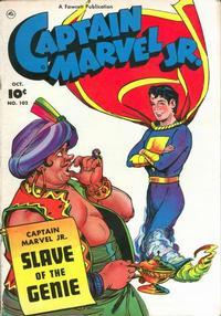 Cover Thumbnail for Captain Marvel Jr. (Fawcett, 1942 series) #102