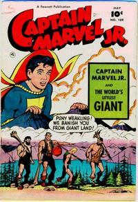 Cover Thumbnail for Captain Marvel Jr. (Fawcett, 1942 series) #109