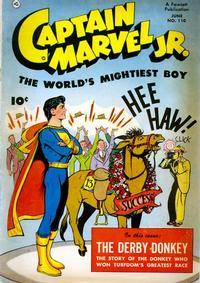 Cover Thumbnail for Captain Marvel Jr. (Fawcett, 1942 series) #110