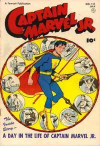 Cover Thumbnail for Captain Marvel Jr. (Fawcett, 1942 series) #111