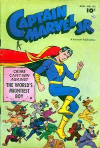 Cover Thumbnail for Captain Marvel Jr. (Fawcett, 1942 series) #112