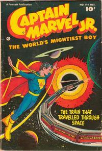 Cover for Captain Marvel Jr. (Fawcett, 1942 series) #114