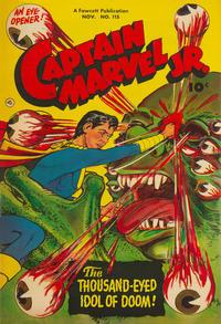 Cover Thumbnail for Captain Marvel Jr. (Fawcett, 1942 series) #115