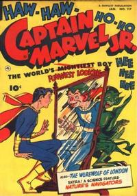 Cover Thumbnail for Captain Marvel Jr. (Fawcett, 1942 series) #117