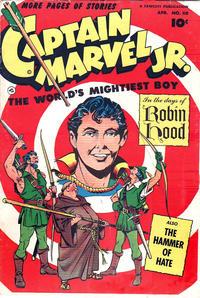 Cover Thumbnail for Captain Marvel Jr. (Fawcett, 1942 series) #118