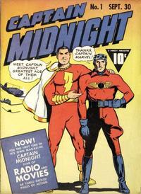 Cover Thumbnail for Captain Midnight (Fawcett, 1942 series) #1