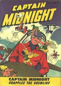 Cover Thumbnail for Captain Midnight (Fawcett, 1942 series) #4