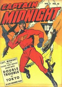Cover Thumbnail for Captain Midnight (Fawcett, 1942 series) #5