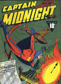 Cover Thumbnail for Captain Midnight (Fawcett, 1942 series) #7