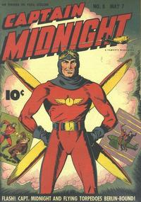 Cover Thumbnail for Captain Midnight (Fawcett, 1942 series) #8