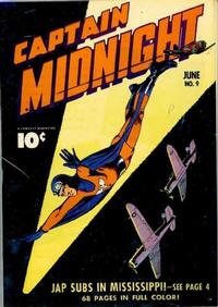 Cover Thumbnail for Captain Midnight (Fawcett, 1942 series) #9