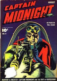 Cover Thumbnail for Captain Midnight (Fawcett, 1942 series) #11