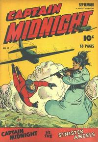 Cover Thumbnail for Captain Midnight (Fawcett, 1942 series) #12