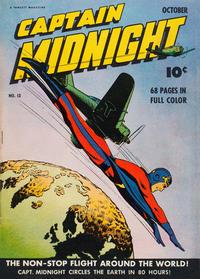 Cover Thumbnail for Captain Midnight (Fawcett, 1942 series) #13