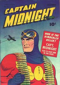 Cover Thumbnail for Captain Midnight (Fawcett, 1942 series) #15