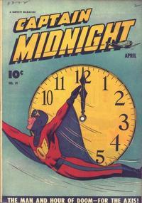 Cover Thumbnail for Captain Midnight (Fawcett, 1942 series) #19