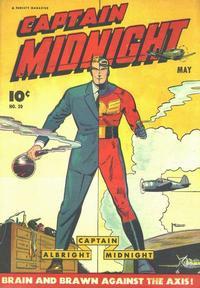 Cover Thumbnail for Captain Midnight (Fawcett, 1942 series) #20