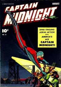 Cover Thumbnail for Captain Midnight (Fawcett, 1942 series) #23