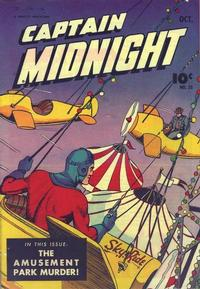Cover Thumbnail for Captain Midnight (Fawcett, 1942 series) #25