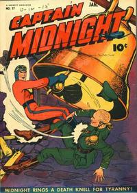 Cover Thumbnail for Captain Midnight (Fawcett, 1942 series) #27