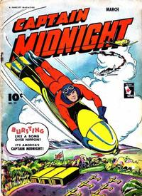 Cover Thumbnail for Captain Midnight (Fawcett, 1942 series) #29