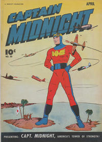 Cover Thumbnail for Captain Midnight (Fawcett, 1942 series) #30