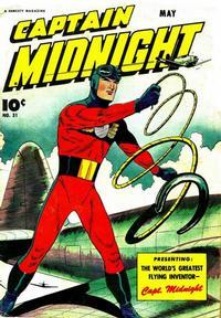Cover Thumbnail for Captain Midnight (Fawcett, 1942 series) #31