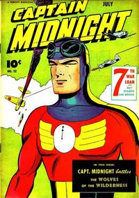 Cover Thumbnail for Captain Midnight (Fawcett, 1942 series) #32