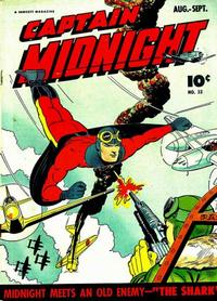 Cover Thumbnail for Captain Midnight (Fawcett, 1942 series) #33