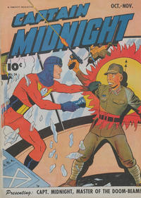 Cover Thumbnail for Captain Midnight (Fawcett, 1942 series) #34