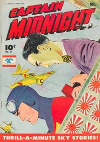 Cover Thumbnail for Captain Midnight (Fawcett, 1942 series) #35