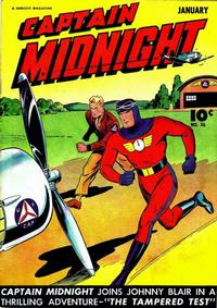 Cover Thumbnail for Captain Midnight (Fawcett, 1942 series) #36