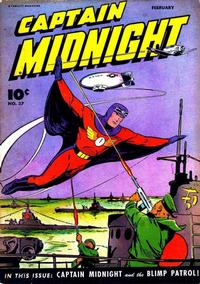 Cover Thumbnail for Captain Midnight (Fawcett, 1942 series) #37
