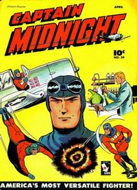 Cover Thumbnail for Captain Midnight (Fawcett, 1942 series) #39