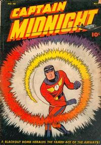 Cover Thumbnail for Captain Midnight (Fawcett, 1942 series) #40