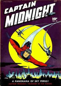 Cover Thumbnail for Captain Midnight (Fawcett, 1942 series) #42