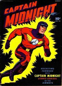 Cover Thumbnail for Captain Midnight (Fawcett, 1942 series) #43