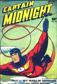 Cover Thumbnail for Captain Midnight (Fawcett, 1942 series) #44