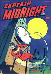 Cover for Captain Midnight (Fawcett, 1942 series) #45