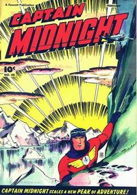 Cover Thumbnail for Captain Midnight (Fawcett, 1942 series) #48