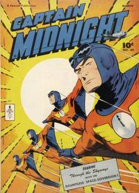 Cover Thumbnail for Captain Midnight (Fawcett, 1942 series) #49