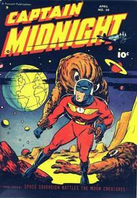 Cover Thumbnail for Captain Midnight (Fawcett, 1942 series) #50