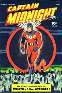 Cover Thumbnail for Captain Midnight (Fawcett, 1942 series) #52