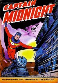Cover Thumbnail for Captain Midnight (Fawcett, 1942 series) #53