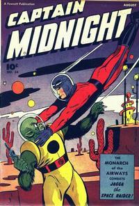 Cover Thumbnail for Captain Midnight (Fawcett, 1942 series) #54
