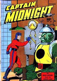 Cover Thumbnail for Captain Midnight (Fawcett, 1942 series) #55