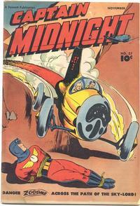 Cover Thumbnail for Captain Midnight (Fawcett, 1942 series) #57