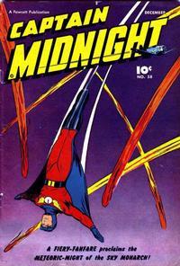 Cover Thumbnail for Captain Midnight (Fawcett, 1942 series) #58